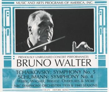 Tchaikovsky: Symphony No. 5 - Schumann: Symphony No. 4 by Bruno Walter & NBC Symphony Orchestra album download