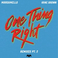 One Thing Right (Late Night Remix) by Marshmello & Kane Brown MP3 Download